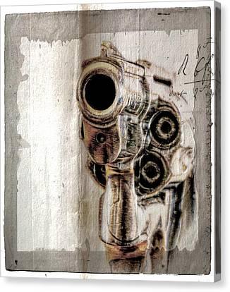 No Guns Allowed Canvas Print