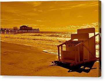No Lifeguard Canvas Print