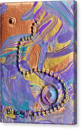 No More Questions Canvas Print by Donna Blackhall