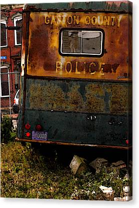 No Need For The Black Maria Canvas Print by Jay Ressler