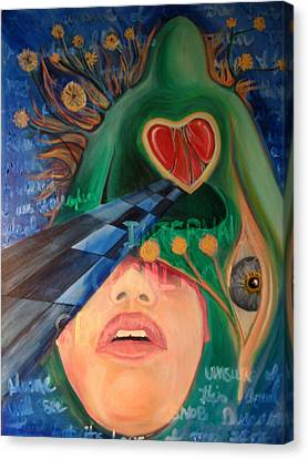 No One Will See This But Its Love Canvas Print by Brian Marcotte