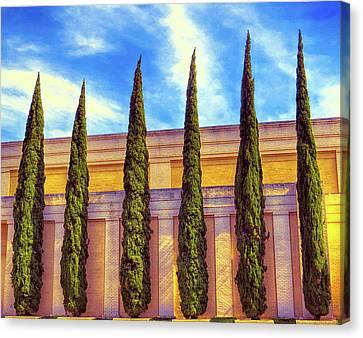 Canvas Print featuring the digital art No Ordinary Days by Wendy J St Christopher