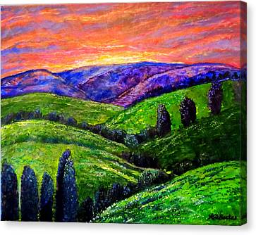 No Place Like The Hills Of Tennessee Canvas Print by Kimberlee Baxter