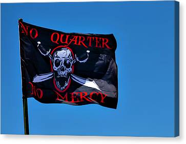 No Quarter No Mercy Canvas Print by Garry Gay