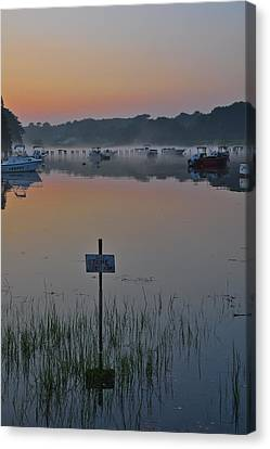 No Stone Throwing Canvas Print by Catherine Easton