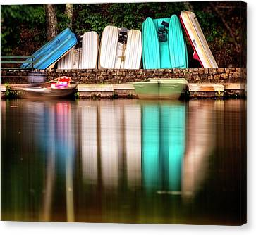 Canvas Print featuring the photograph No Takers by Alan Raasch