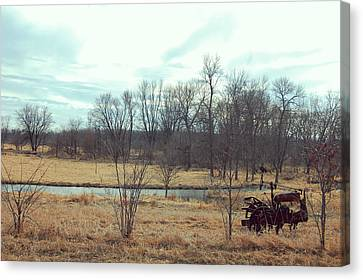 No Till Farm Canvas Print by Jame Hayes