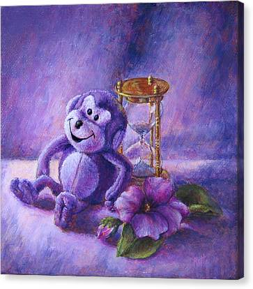 No Time To Monkey Around Canvas Print
