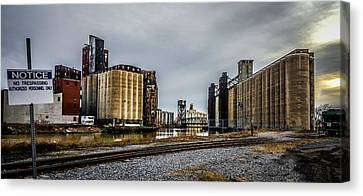 No Trespassing Canvas Print by Carlos Ruiz