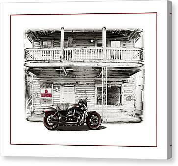 No Trespassing Canvas Print by Mal Bray
