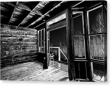 Historic Site Canvas Print - Ghost Stories by Eric Glaser