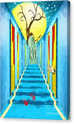 No Way Out - Rest In Peace Canvas Print by L Wright