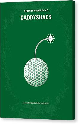 No013 My Caddy Shack Minimal Movie Poster Canvas Print by Chungkong Art