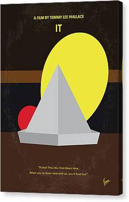 No043 My It Minimal Movie Poster Canvas Print by Chungkong Art