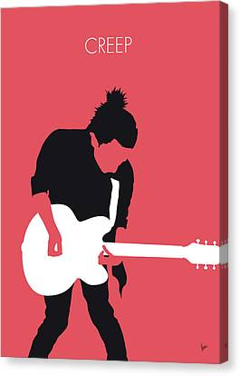 Worldwide Canvas Print - No062 My Radiohead Minimal Music Poster by Chungkong Art