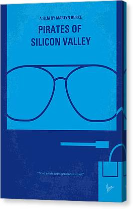 No064 My Pirates Of Silicon Valley Minimal Movie Poster Canvas Print by Chungkong Art