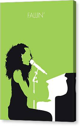No066 My Alicia Keys Minimal Music Poster Canvas Print by Chungkong Art