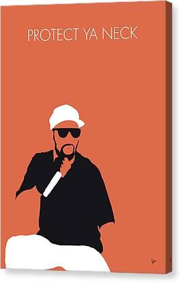 No073 My Wutangclan Minimal Music Poster Canvas Print