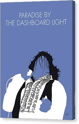 Broadcast Canvas Print - No078 My Meat Loaf Minimal Music Poster by Chungkong Art