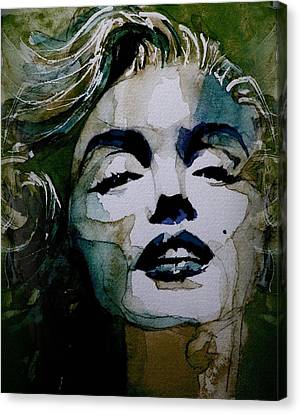 No10 Larger Marilyn  Canvas Print by Paul Lovering