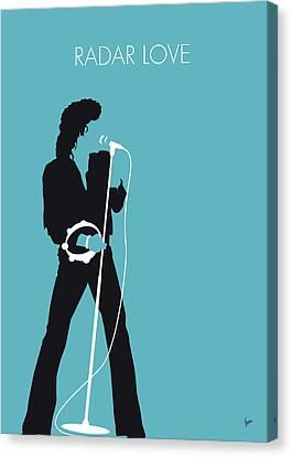 Gear Canvas Print - No115 My Golden Earring Minimal Music Poster by Chungkong Art