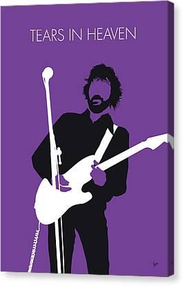 Eric Clapton Canvas Print - No141 My Eric Clapton Minimal Music Poster by Chungkong Art