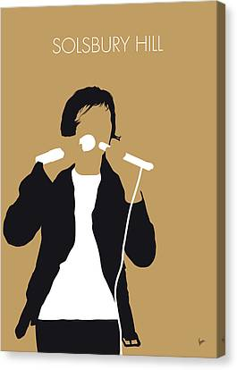 Gabriel Canvas Print - No150 My Peter Gabriel Minimal Music Poster by Chungkong Art