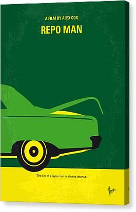 No478 My Repo Man Minimal Movie Poster Canvas Print by Chungkong Art