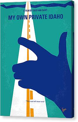 Keanu Canvas Print - No472 My Own Private Idaho Minimal Movie Poster by Chungkong Art