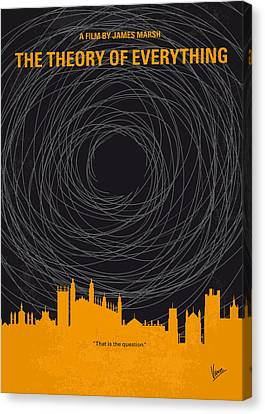 No568 My The Theory Of Everything Minimal Movie Poster Canvas Print