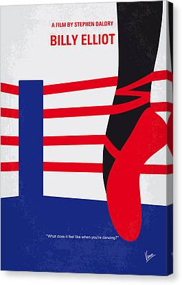 No597 My Billy Elliot Minimal Movie Poster Canvas Print by Chungkong Art