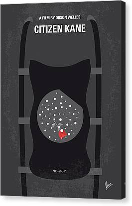 No605 My Citizen Kane Minimal Movie Poster Canvas Print by Chungkong Art