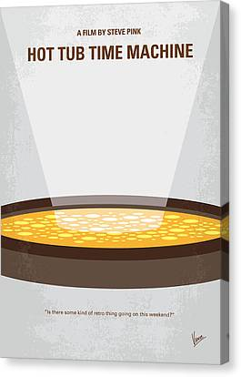 No612 My Hot Tub Time Machine Minimal Movie Poster Canvas Print by Chungkong Art