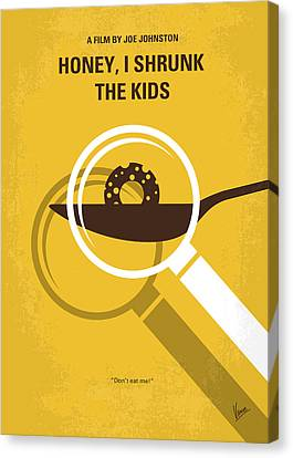 No641 My Honey I Shrunk The Kids Minimal Movie Poster Canvas Print by Chungkong Art