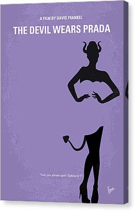 No661 My The Devil Wears Prada Minimal Movie Poster Canvas Print by Chungkong Art