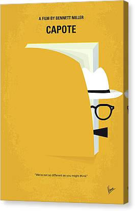 No671 My Capote Minimal Movie Poster Canvas Print by Chungkong Art