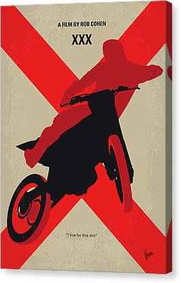 Union Bridge Canvas Print - No728 My Xxx Minimal Movie Poster by Chungkong Art