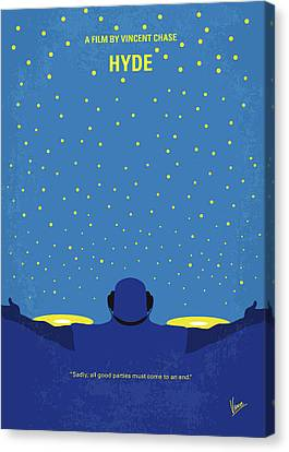 Kevin Canvas Print - No777 My Hyde Minimal Movie Poster by Chungkong Art