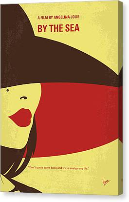No805 My By The Sea Minimal Movie Poster Canvas Print by Chungkong Art