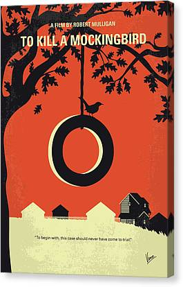 Finch Canvas Print - No844 My To Kill A Mockingbird Minimal Movie Poster by Chungkong Art