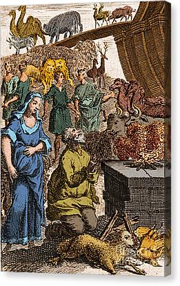Noah Preparing First Sacrifice After Canvas Print by Science Source