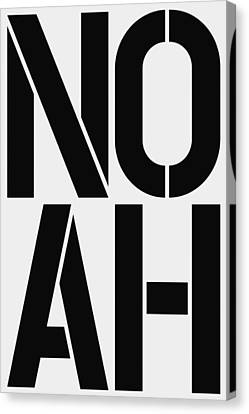 Noah Canvas Print by Three Dots