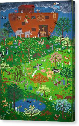 Noahs Ark Canvas Print by Isolda Nouel