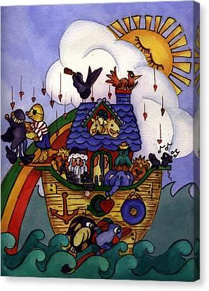 Noah's Ark Canvas Print by Patricia Halstead