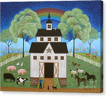 Noah's Barn Canvas Print