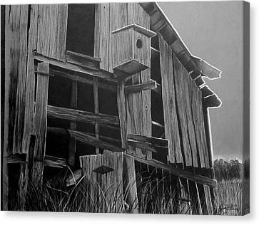 Noble Barn  Canvas Print