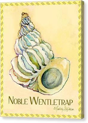 Noble Wentletrap Canvas Print