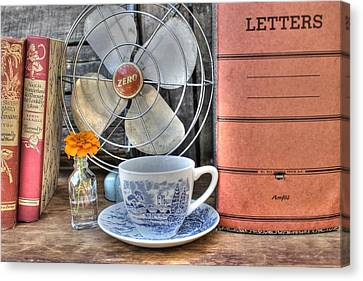 Nobody Writes Letters Anymore Canvas Print by Jane Linders