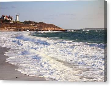 Nobska Point Seascape Canvas Print
