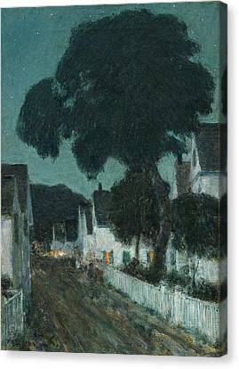 Nocturne. Provincetown Canvas Print